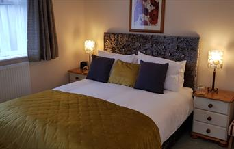 Luxury King size Bedroom Blue Waters Lodge, Paignton, Devon