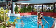 Indoor pool at Beverley Bay, Paignton, Devon