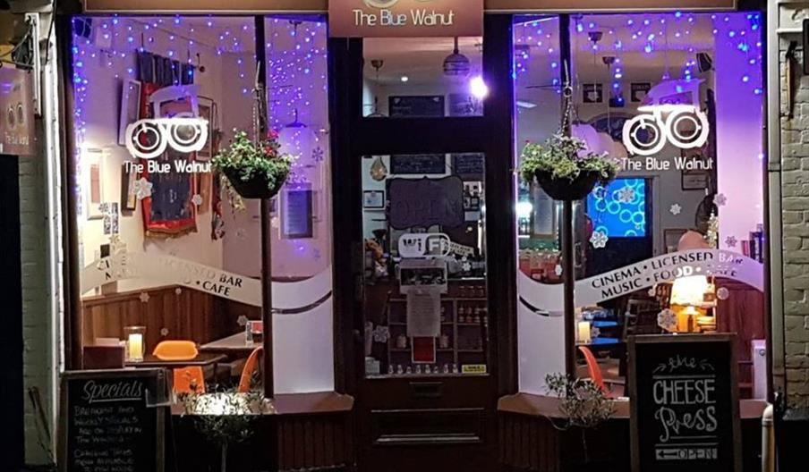 The Blue Walnut Cafe, Chelston, Torquay, Devon