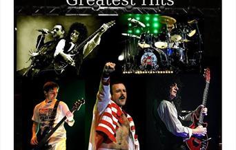 The Bohemians Queen's Greatest Hits, Babbacombe Theatre, Torquay, Devon