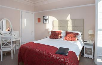 Bedroom at Braddon Hall, Torquay, Devon