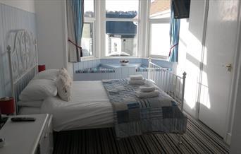 Double bedroom at Brantwood, Torquay, Devon