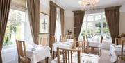 Dining at Haytor Hotel, Torquay, Devon