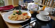 Breakfast at Brixham House, Brixham, Devon