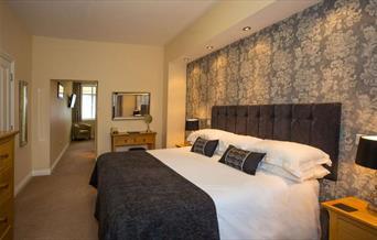 Luxury bedroom at Briarfields, Torquay, Devon