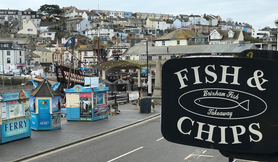 Brixham Fish Takeaway and Restaurant, Devon
