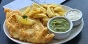 Brixham Fish Takeaway and Restaurant, Brixham, Devon
