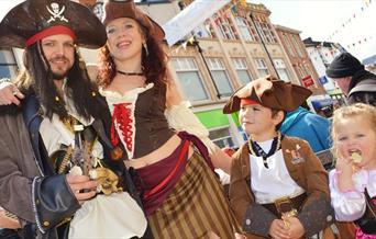 Brixham Pirate Festival, Brixham, Devon