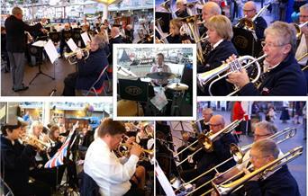 Brixham Town Band, Brixham, Devon