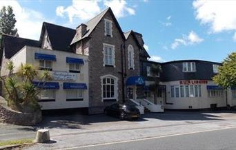 Exterior, The Burlington Hotel, Torquay, Devon