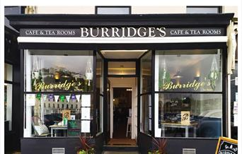 Burridges Tea Rooms Torquay, Devon