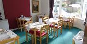Breakfast Room, Carrington Guest House, Beach Road, Paignton, Devon