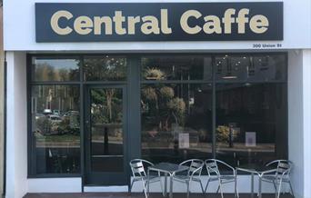 Exterior, Central Caffe, 300 Union Street, Torquay