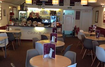Chandlers Coffee Shop Paignton,Devon
