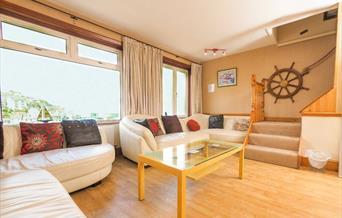 Lounge, Charlotte Cottage, 63 King Street, Brixham, Devon
