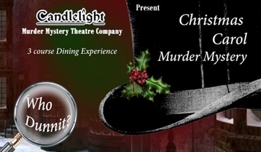 Murder Mystery - Christmas Carol, Candlelight Theatre Company, Princess Theatre, Torquay, Devon