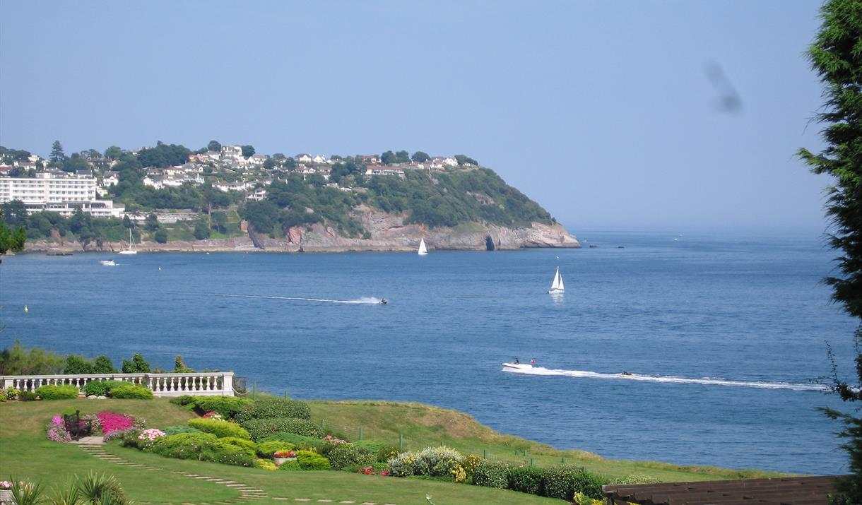 View from Cliff Court Apartments, Torquay, Devon