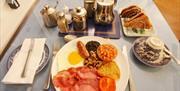Breakfast, Clydesdale Guest House, Paignton, Devon