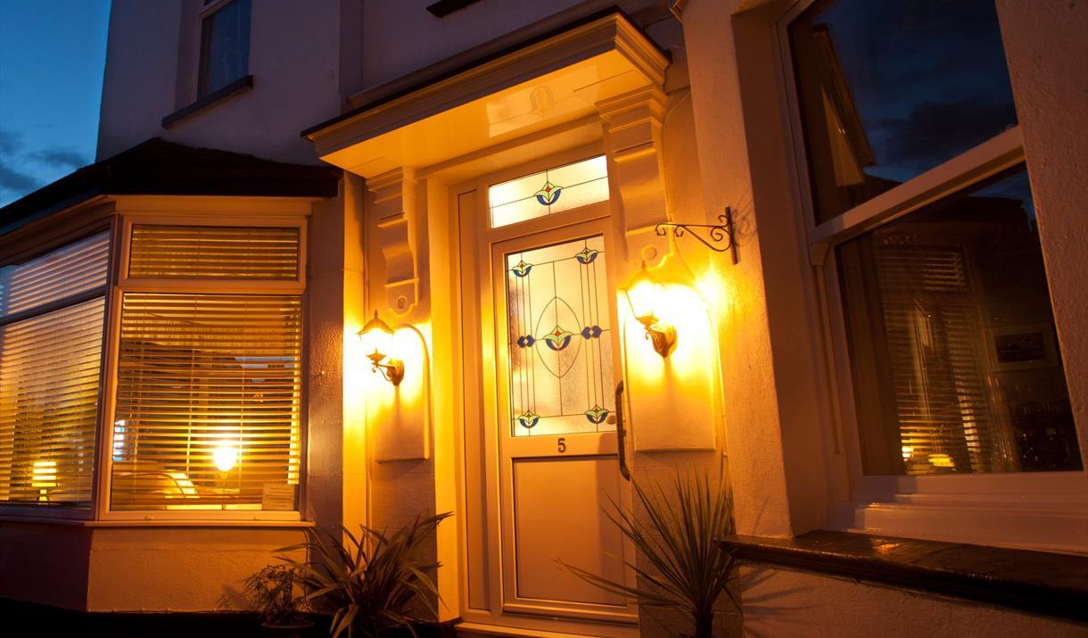 Entrance, Clydesdale Guest House, Paignton, Devon