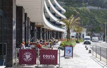 Costa Coffee, Abbey Sands, Torquay, Devon