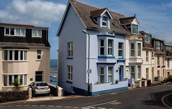 Exterior, Creels, 17 North Furzeham Road, Brixham, Devon