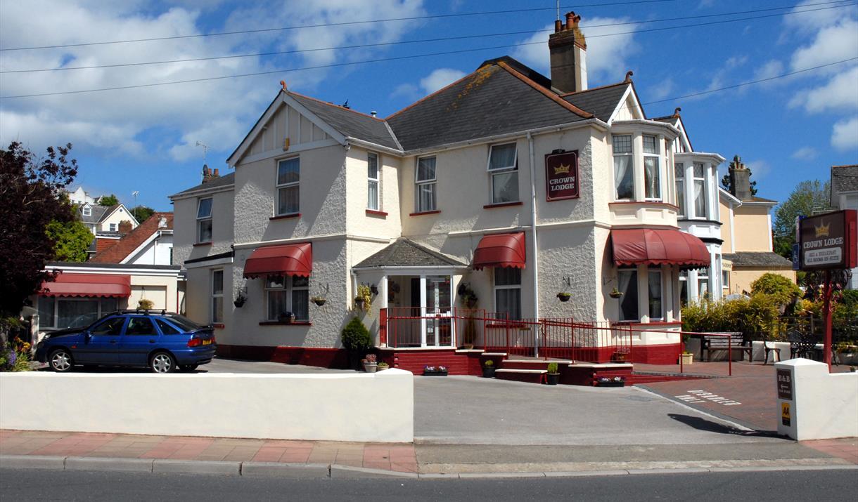 Front of Crown Lodge, Torquay, Devon