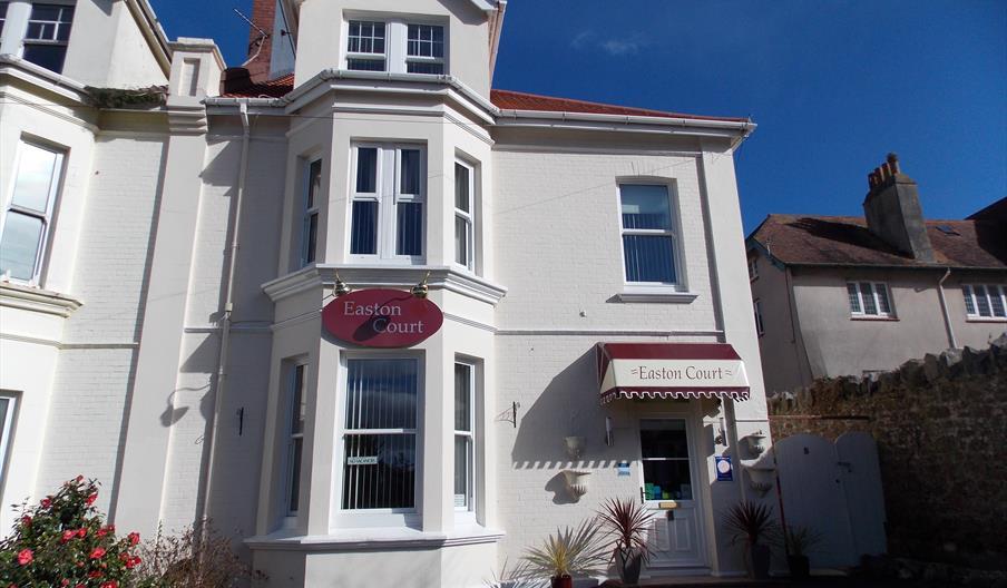 Front of Easton Court, Paignton, Devon