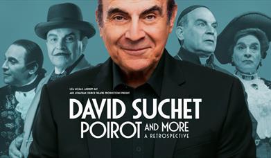 David Suchet - Poirot and More, A Retrospective, Princess Theatre, Torquay, Devon
