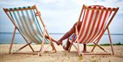 Brixham Holiday Park Deckchairs in Brixham, Devon