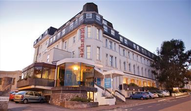 View of the TLH Derwent Hotel, Torquay, Devon