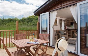 Outside decking area, Devon Hills Haulfryn, Totnes Road, Paignton, Devon