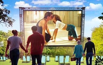 Dirty Dancing - Outside Cinema, Torquay, Devon