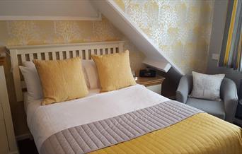Bedroom at Brookside Guest House, Brixham, Devon
