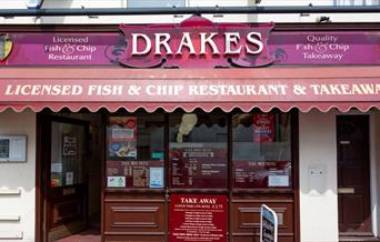 Drakes Fish & Chip Takeaway Babbacombe, Torquay, Devon