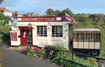Babbacombe Cliff Railway, Torquay, Devon