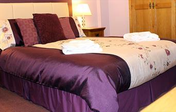 Bedroom, Exton House, Torquay, Devon