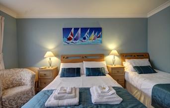 Family Room, Churston Way Lodge, Brixham, Devon