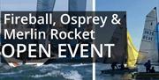 Fireball and Osprey Combined Open Meeting, Paignton Sailing Club, Paignton, Devon