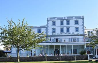 Exterior, The Babbacombe Hotel, Torquay, Devon