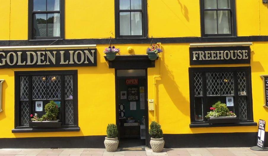 Golden Lion, Brixham, Devon