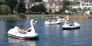 Goodrington Boating Lakes, Paignton, Devon