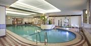 Indoor pool, Grand Leisure Suite, Grand Hotel, Torquay, Devon