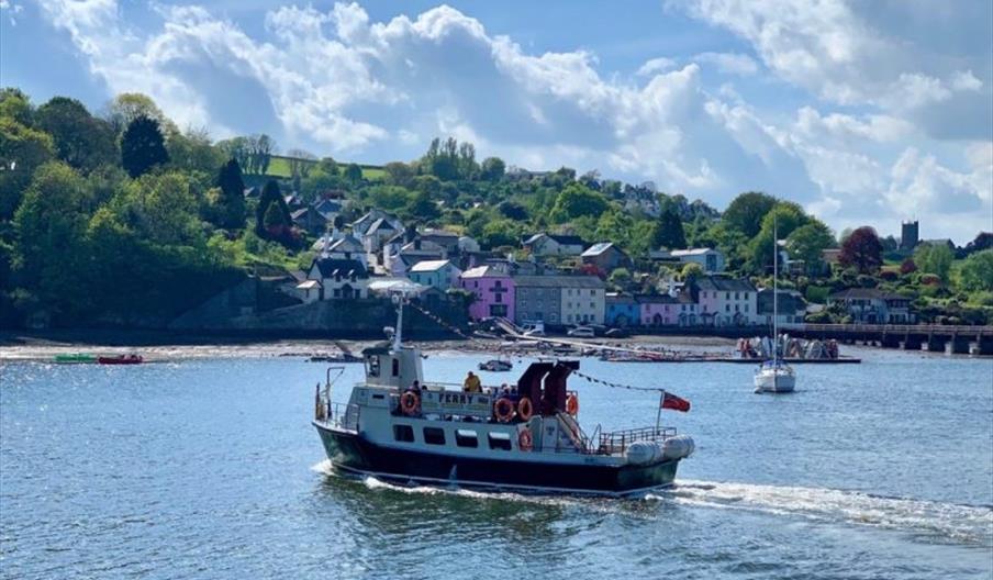 Greenway Ferry, Dartmouth, Devon