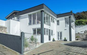 Exterior, Harbourview Villa, 43 Warberry Road West, Torquay, Devon