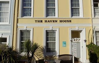 Front of Haven House, Torquay, Devon