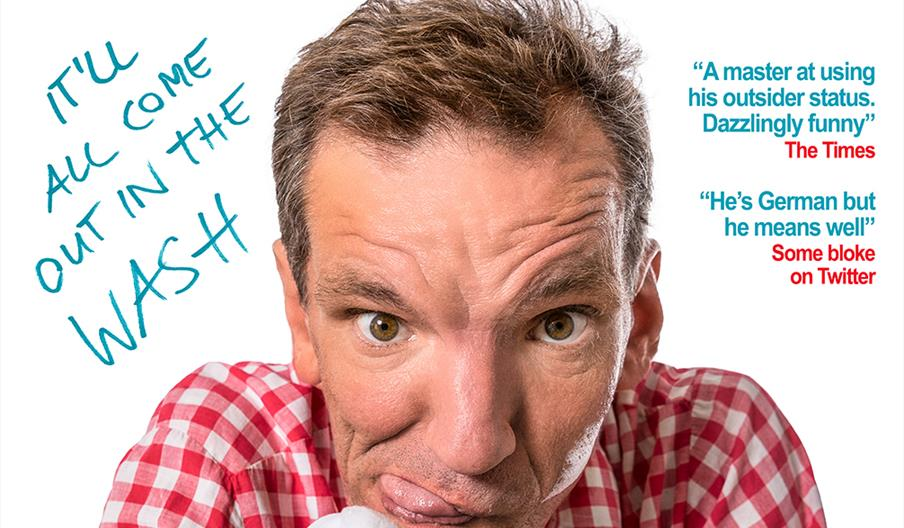 Henning Wehn - It'll All Come Out in the Wash, Princess Theatre, Torquay, Devon