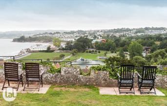 View from Hunters Lodge, 10 Roundham Road, Paignton, Devon