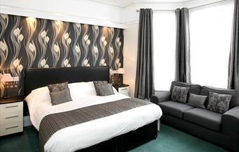 Bedroom at Mount Edgcombe, Torquay, Devon