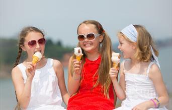 Ice Cream Kiosk Paignton Beach