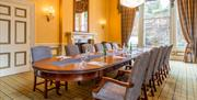 Different size meeting rooms at the Imperial Hotel, Torquay, Devon